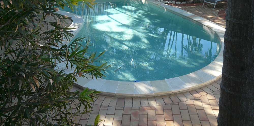 Pebble Pool Interiors